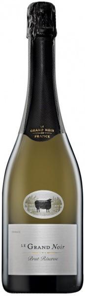 """Игристое вино """"Le Grand Noir"""" Brut Reserve, Languedoc AOP"""