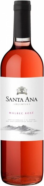 "Вино Bodegas Santa Ana, ""Varietales"" Malbec Rose, 2016"