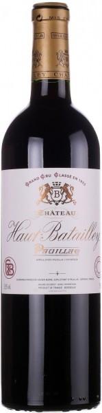 Вино Chateau Haut-Batailley, Pauillac AOC 5-eme Grand Cru Classe, 2013
