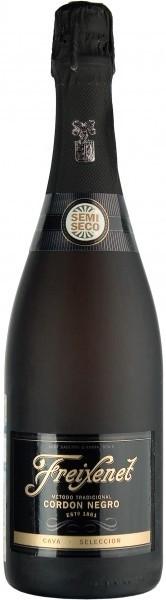 Игристое вино Freixenet Cava Cordon Negro Semi-Seco
