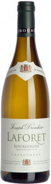 "Вино ""Laforet"" Bourgogne Chardonnay AOC, 2011, 0.375 л"