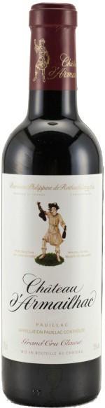 Вино Chateau d'Armailhac Pauillac AOC 5-me Grand Cru Classe 2004, 0.375 л