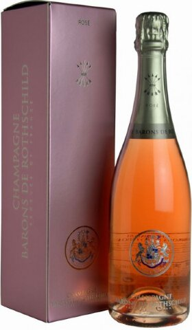 "Шампанское ""Baron de Rothschild"" Rose, gift box, 1.5 л"