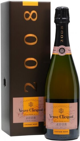 Шампанское Veuve Clicquot, Vintage Rose, 2008, in gift box
