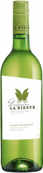 """Вино """"Les Trois Mousquetaires"""", Domaine La Rieste, Cotes de Gascogne IGP"""