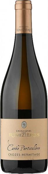 "Вино Domaine des Remizieres, ""Cuvee Particuliere"", Crozes-Hermitage AOC Blanc, 2013"