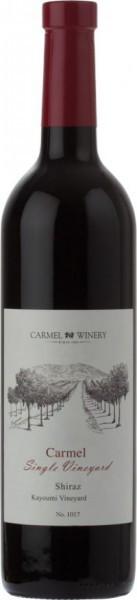 "Вино ""Carmel Single Vineyard"" Shiraz, Kayoumi Vineyard, 2011"
