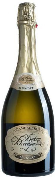 """Игристое вино """"Bessarabia's Bouquet"""" Muscat"""