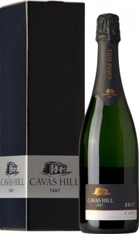 Игристое вино Cavas Hill, Cava Brut DO, gift box