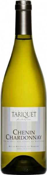 Вино Domaine du Tariquet, Chenin-Chardonnay, Cotes de Gascogne VDP, 2014
