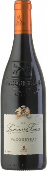 """Вино Arnoux & Fils, """"Seigneur de Lauris"""" Rouge, Vacqueyras AOC, 2010"""