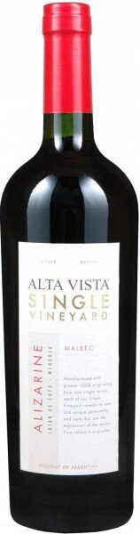 "Вино Alta Vista, Single Vineyard ""Alizarine"" Malbec, 2012"
