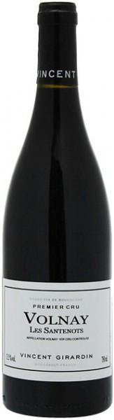 "Вино Vincent Girardin, Volnay Premier Cru ""Les Santenots"", 2009"