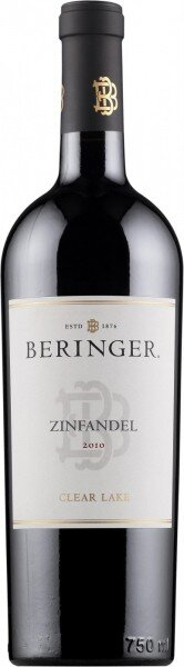 "Вино Beringer, ""Clear Lake"" Zinfandel, Napa Valley,2010"