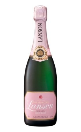 Шампанское Lanson Rose Label Brut Rose 0.75л