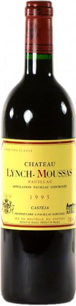 Вино Chateau Lynch-Moussas, Grand Cru Classe Pauillac AOC, 1995