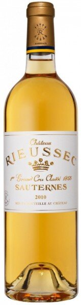 Вино Chateau Rieussec, Sauternes AOC 1-er Grand Cru Classe, 2010