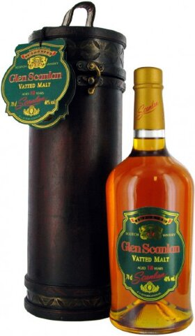 "Виски ""Glen Scanlan"" Vatted Malt, 18 Years Old, in tube, 0.7 л"