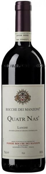 "Вино Rocche dei Manzoni, ""Quatr Nas"", Langhe DOC"