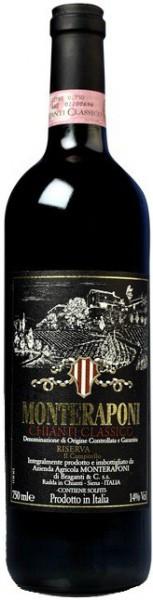 """Вино Monteraponi, Chianti Classico DOCG Riserva """"Il Campitello"""", 2010"""