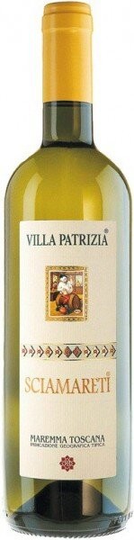 "Вино Villa Patrizia, ""Sciamareti"", Toscana IGT, 2012"