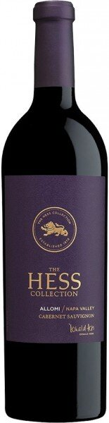 "Вино Hess, ""Allomi"" Vineyard, Cabernet Sauvignon, 2014"