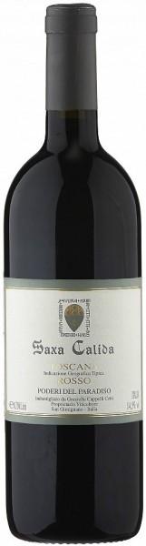 "Вино Poderi del Paradiso, ""Saxa Calida"" Rosso, Toscana IGT, 2011"