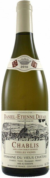 Вино Daniel-Etienne Defaix, Chablis Vieilles Vignes AOC, 2010