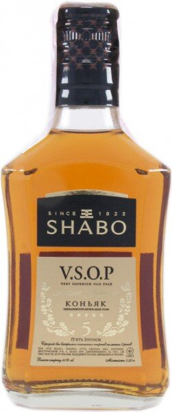 """Коньяк """"Shabo"""" VSOP, 0.25 л"""