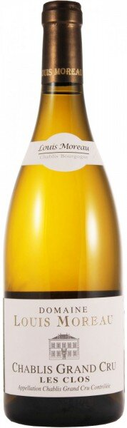 "Вино Domaine Louis Moreau, Chablis Grand Cru ""Les Clos"", 2011"