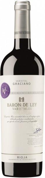 """Вино Baron de Ley, """"Varietales"""" Graciano, Rioja DOC, 2011"""