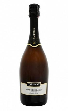 Игристое вино Talisman Blanc de Blanc Demi Sec gift box 0.75л