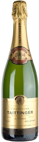 Шампанское Taittinger Brut Millesime, 2004