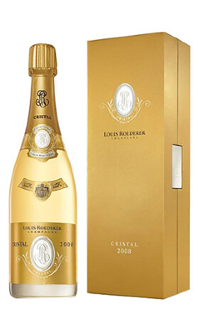 Шампанское Louis Roederer Cristal 2008 gift box 0.75л