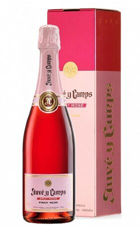 Игристое вино Juve y Camps Rose gift box 0.75л
