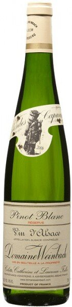Вино Domaine Weinbach, Pinot Blanc Reserve, 2009