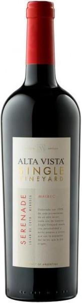 "Вино Alta Vista, Single Vineyard ""Serenade"" Malbec, 2011"