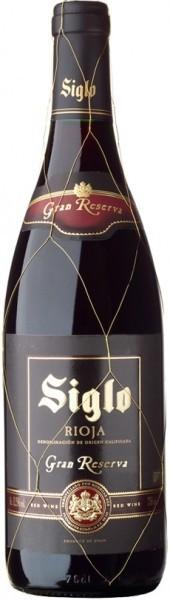"Вино ""Siglo"" Gran Reserva, Rioja DOC, 2008"