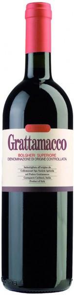 Вино Grattamacco, Bolgheri Rosso Superiore DOC, 2011