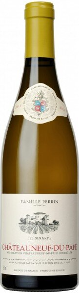 "Вино Perrin et Fils, ""Les Sinards"" Blanc, Chateauneuf-du-Pape AOC, 2014"