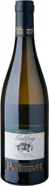 """Вино Domaine de la Presidente, """"Galifay"""" Blanc, Cairanne Cotes du Rhone Villages AOC, 2010"""