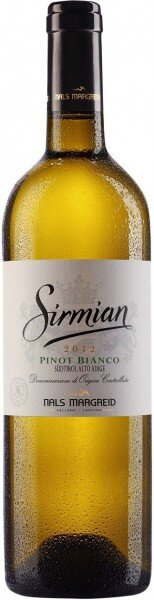 "Вино Nals-Margreid, ""Sirmian"" Pinot Bianco, Sudtirol Alto Adige DOC, 2012"