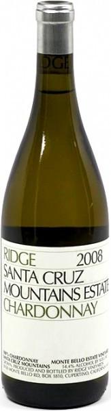 Вино California Santa Cruz Mountains Chardonnay 2008