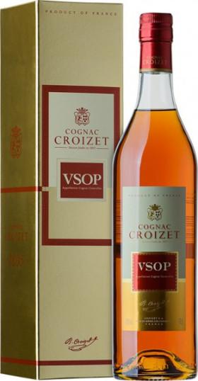 "Коньяк ""Croizet"" VSOP, Cognac AOC, gift box, 0.7 л"