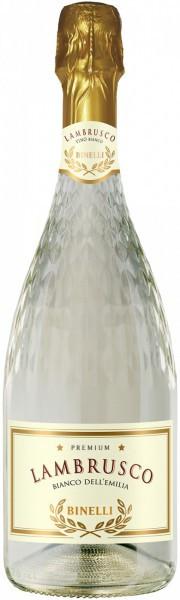 "Игристое вино ""Binelli Premium"" Lambrusco Bianco Amabile, Dell'Emilia IGT"