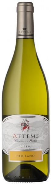 Вино Attems, Friulano, Collio DOC, 2010