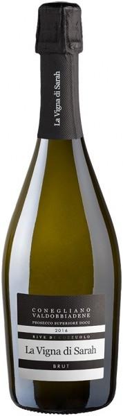"""Игристое вино La Vigna di Sarah, """"Rive di Cozzuolo"""" Brut, Conegliano-Valdobbiadene Prosecco Superiore DOCG, 2016"""