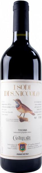 """Вино Castellare di Castellina, """"I Sodi di San Niccolo"""", Toscana IGT, 2003"""
