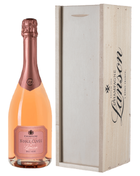 Шампанское Lanson Noble Cuvee Brut Rose