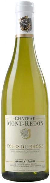 "Вино ""Chateau Mont-Redon"" Blanc, Cotes du Rhone AOC, 2015"